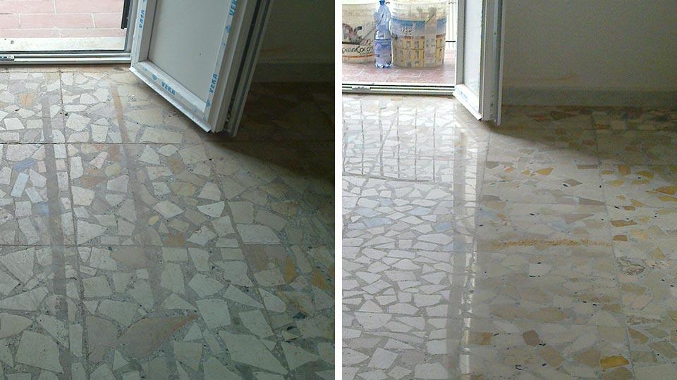 Pavimenti graniglia anni 60 pavimenti in graniglia a bari for Piastrelle finto marmo